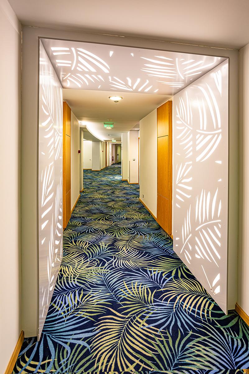 TUI BLUE Lindos Bay corridor