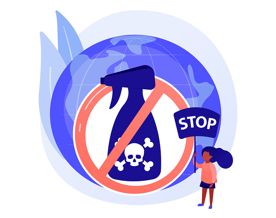 Stop chemicals